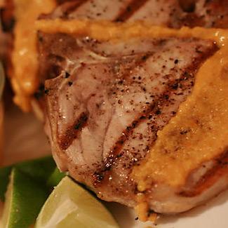 Pork Chops Sate