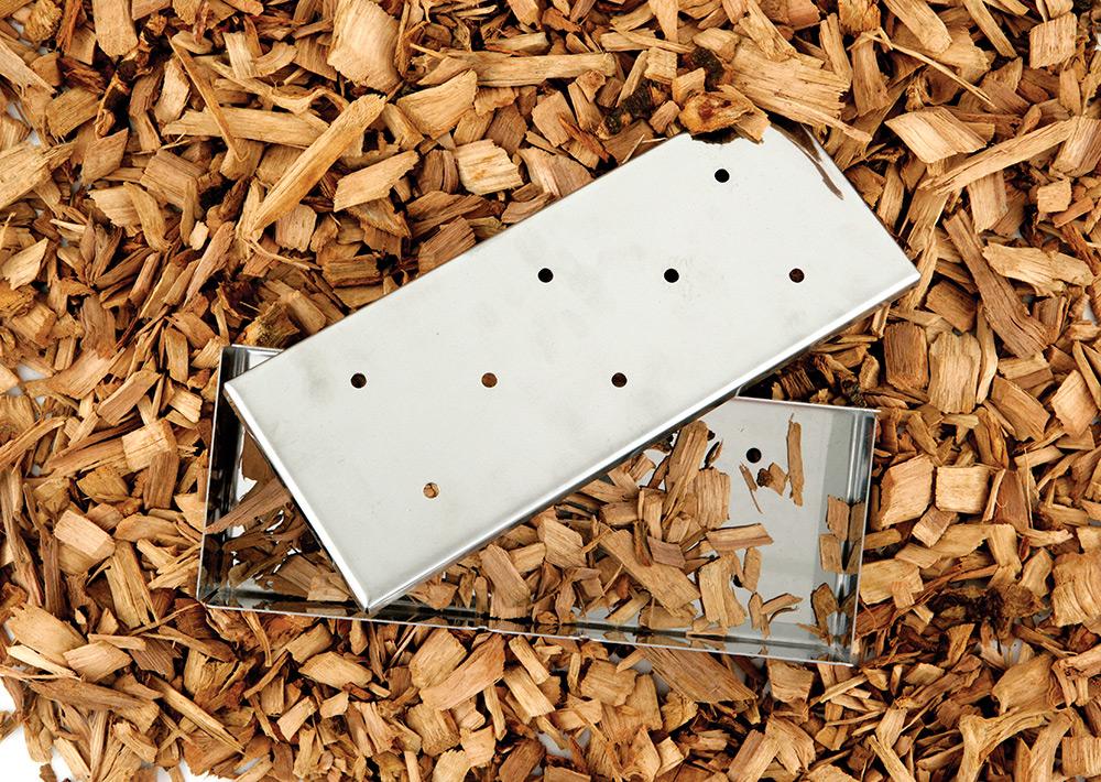 Wood Chip Smoker Box Mr Bar B Q