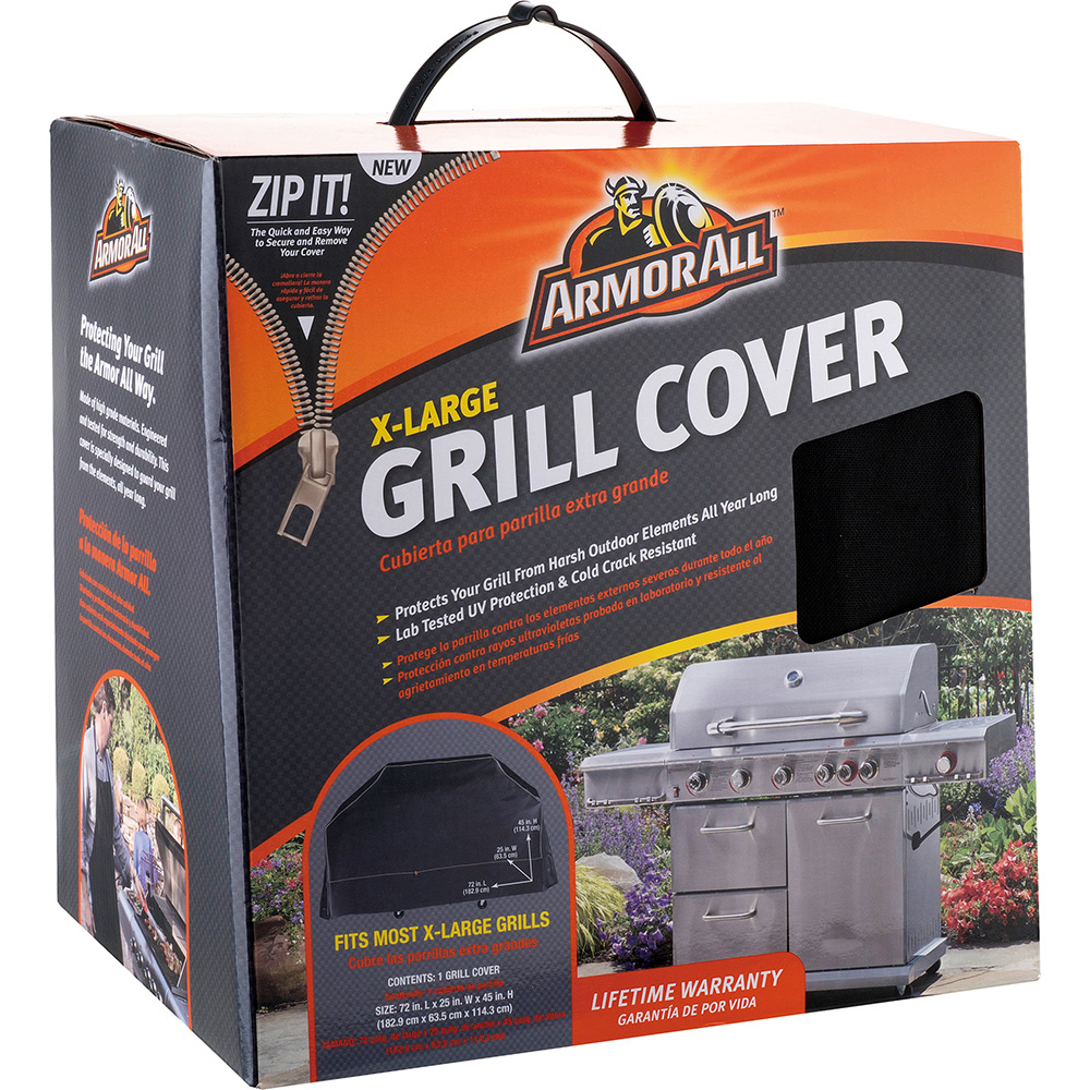 Armor All Premium Extra Large Grill Cover Mr Bar B Q