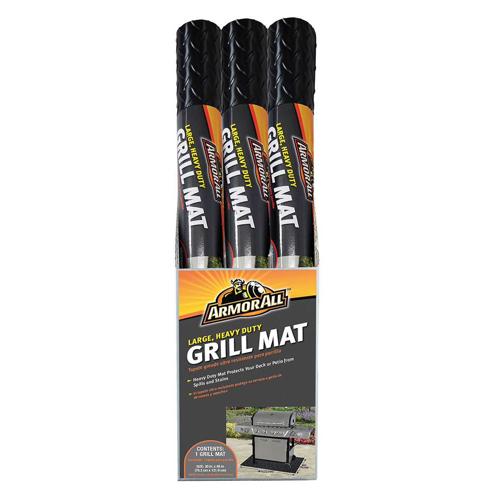 Armor All 174 Heavy Duty Large Grill Mat Mr Bar B Q