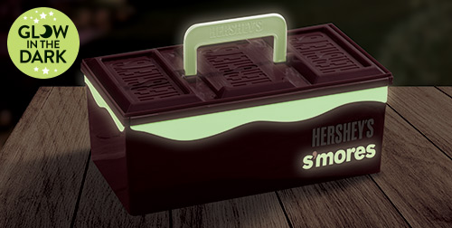 Glow in the Dark HERSHEY'S S'mores Caddy
