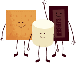 HERSHEYS-Smores-Characters