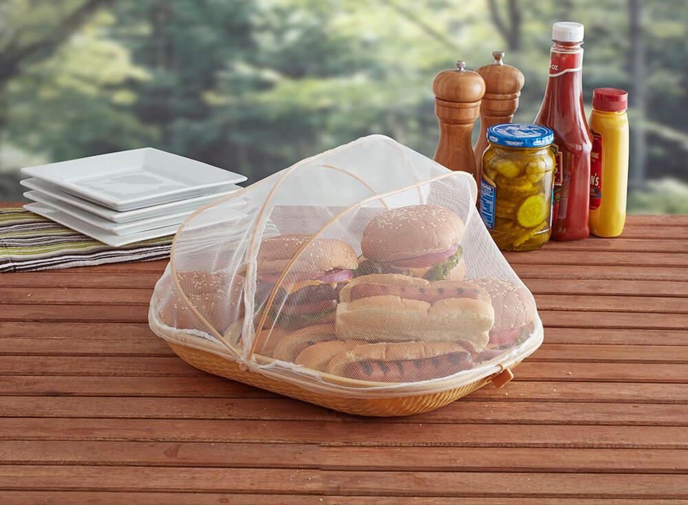 Food Tent Platter - Mr. Bar-B-Q
